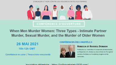 When Men Murder Women: Three Types - Intimate Partner Murder, Sexual Murder, and the Murder of Older Women